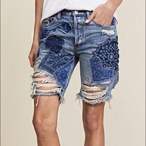 Free People Bermuda Jean shorts! NWT